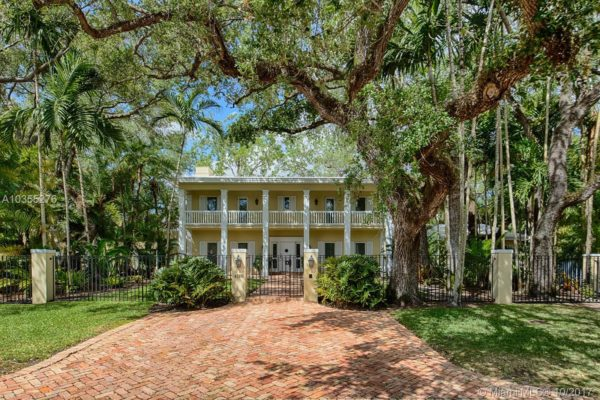 Modern Colonial Homes In Coral Gables